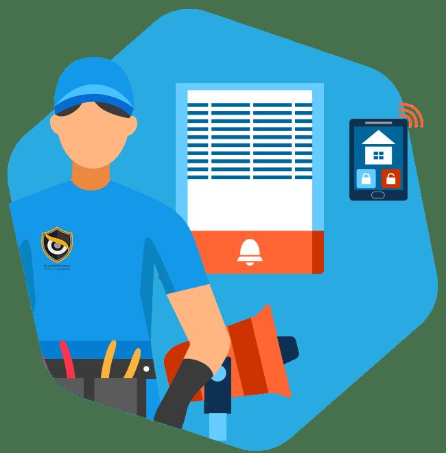 دزدگیر اماکن min - نصب دزدگیر اماکن