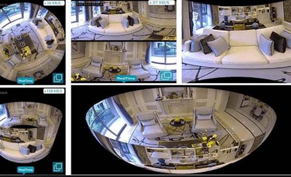 Lamp CCTV 1 - دوربین مداربسته لامپی با تکنولوژی دید در شب