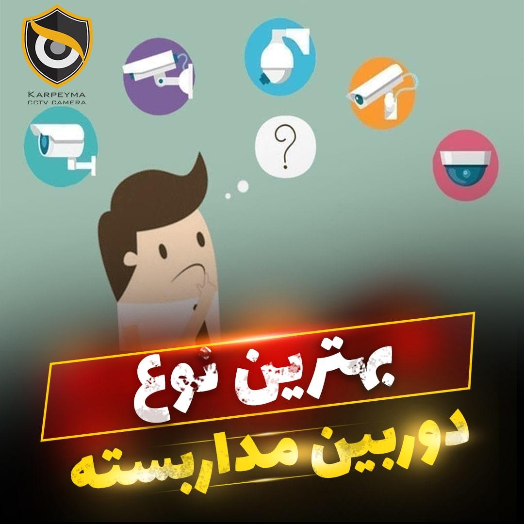 نوع دوربین مداربسته min - بهترین نوع دوربین مداربسته | قیمت انواع دوربین مداربسته در ایران